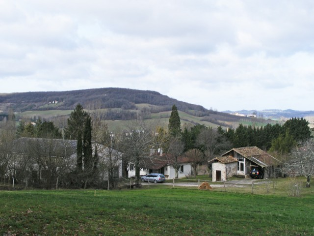 The 2Moons centre in France. Our bungalow is in the middle.