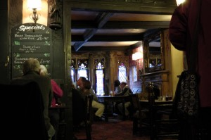 Having an ale in the 15th century pub