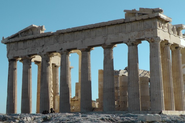 Someone should tell them: 'Tourists go to Greece to see the ruins, not a wasteland!'