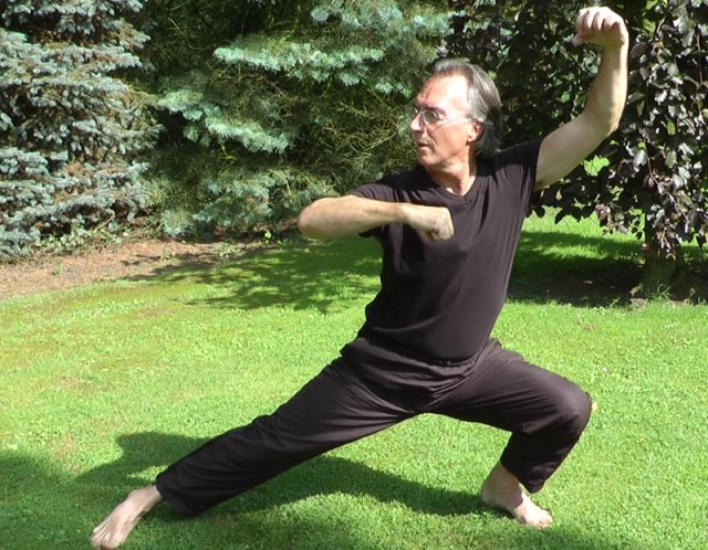 Body awareness (here Tai Chi Chuan) is best done in harmony with nature.