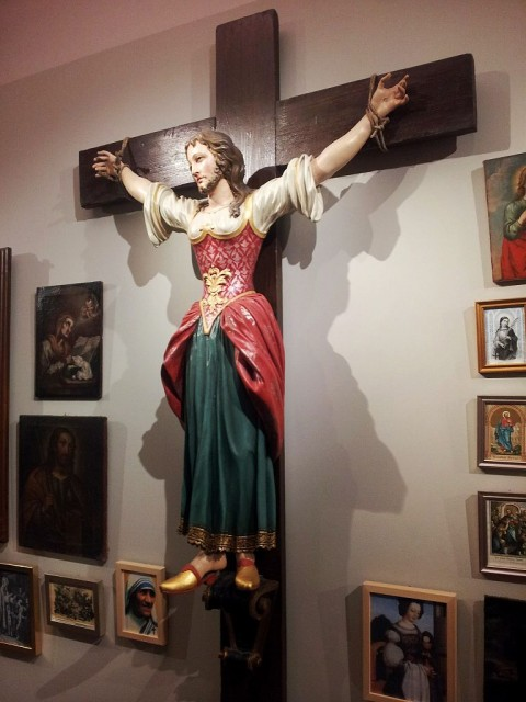 Saint Wilgefortis in Graz, Austria