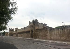Avignon city walls