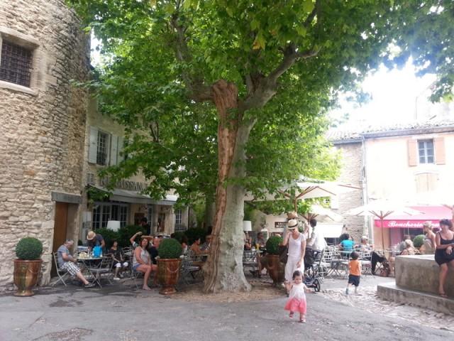 Hotel Renaissance restaurant, Gordes