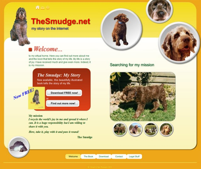The Smudge's home on the internet