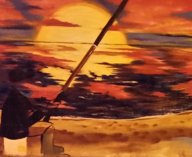 graffitti-sunset