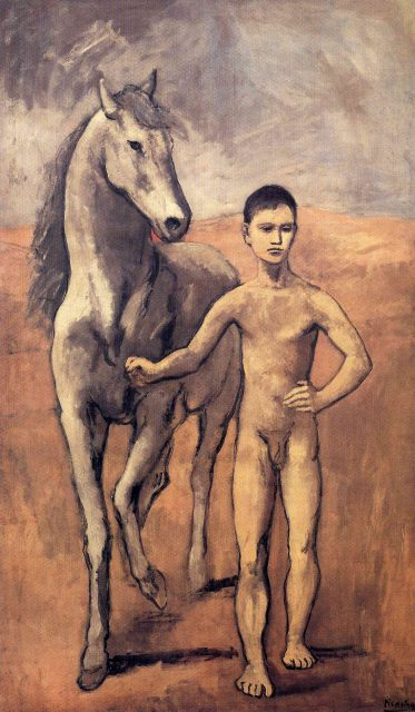Pablo Picasso's Boy Leading a Horse